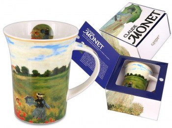 porcelain mug Monet